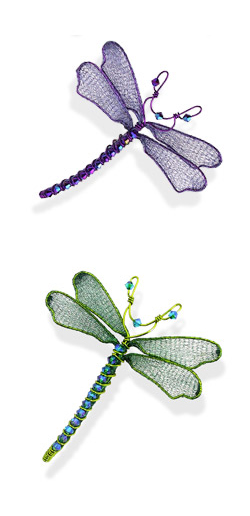 2 Dragonfly pins